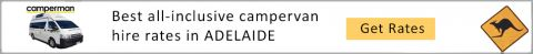 ADELAIDE campervan hire and RV rental