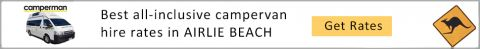 AIRLIE BEACH campervan hire and motorhome rental