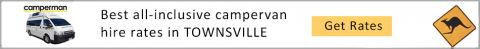 TOWNSVILLE campervan hire and RV rental