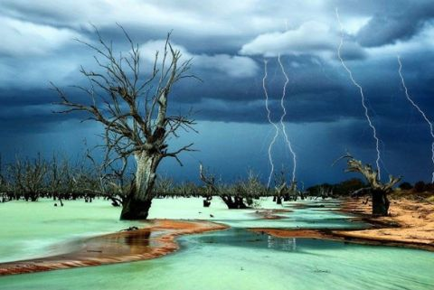 menindee lakes phenomena of the world
