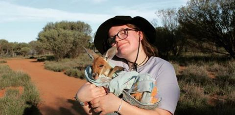 Kangaroo Sanctuary Alice Springs