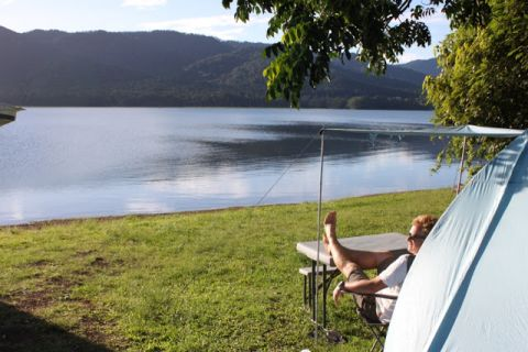 fong-on camping Atherton Tablelands