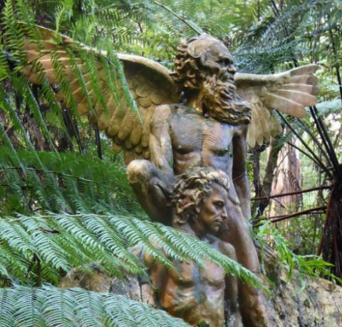 william ricketts sanctuary mtlees