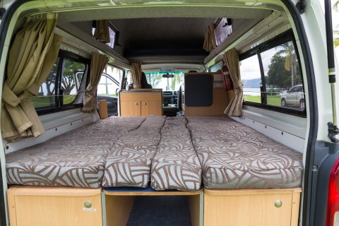 Juliette 3 Campervan How To Setup The Bed