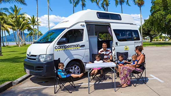 Camper Rental, RV rental and Motorhome rental Australia