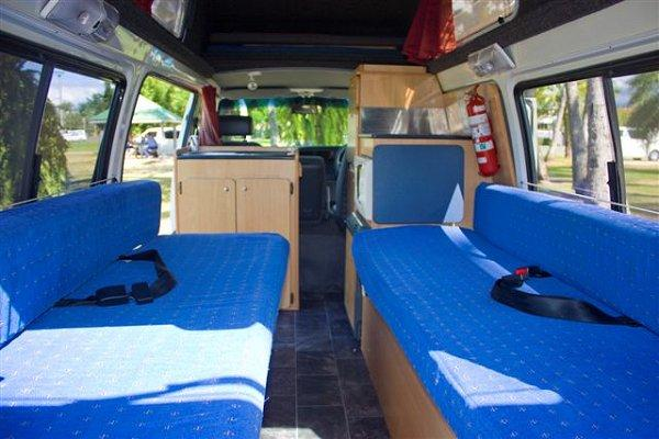 5 Person Budget Campervan Motorhome And Rv Rentals Australia