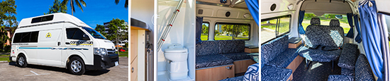 Campervan with Shower & Toilet