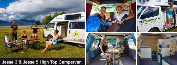 Jesse 5 Hightop Campervan